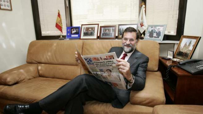 Mariano Rajoy. (JORGE PARÍS)
