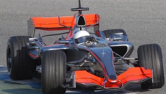 Alonso, con McLaren (Efe/Jaro Muñoz).