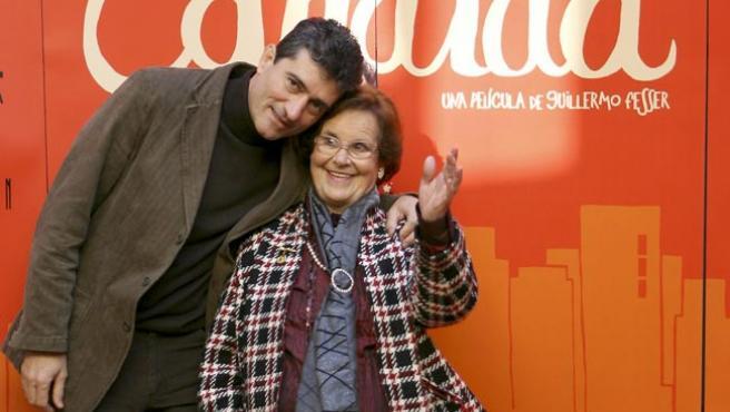 Guillermo Fesser y Cándida Villar. (EFE)