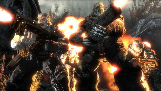 Imagen de 'Gears of War'. (ARCHIVO)