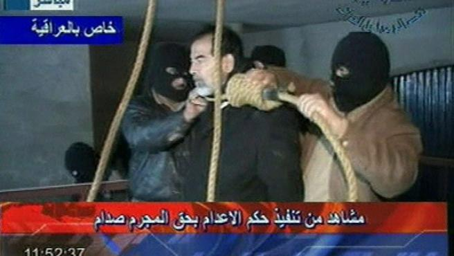 Sadam Huseín fue ahorcado con la soga que se utilizó en más ocasiones para ejecuciones durante su régimen.