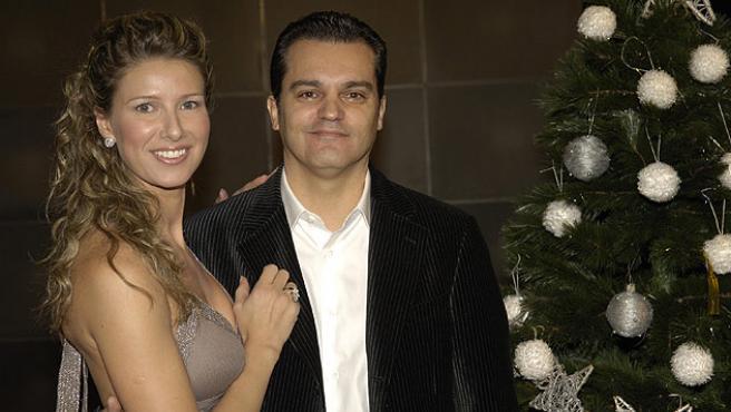 Anne Igartiburu y Ramón García hace un año en TVE 1 (fotos: Archivo).
