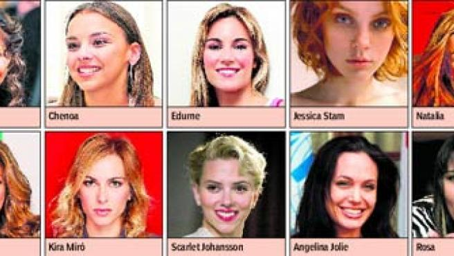 Las chicas más sexies de 2006.