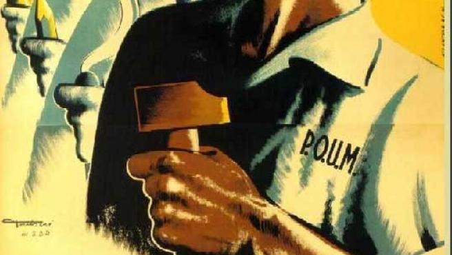 Trabajadores en un cartel de 1936.