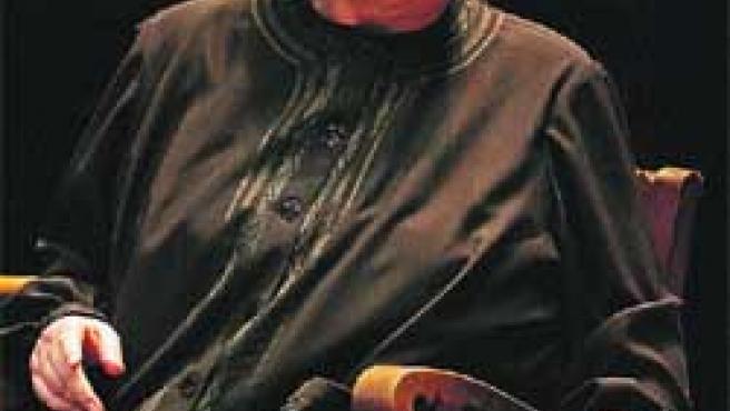Margarita Lozano en una de las escenas de La casa de Bernarda Alba.