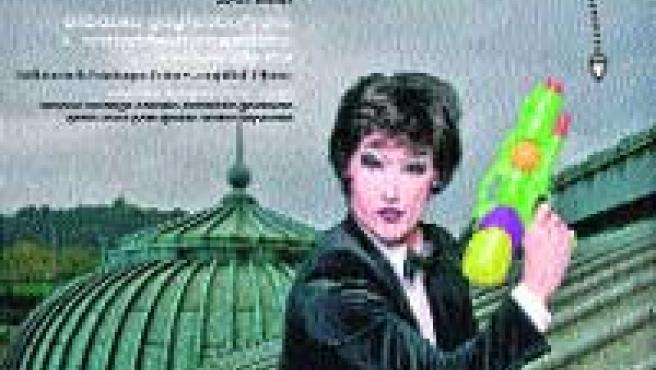 Un James Bond muy especial es lla imagen del cartel del festival gay.