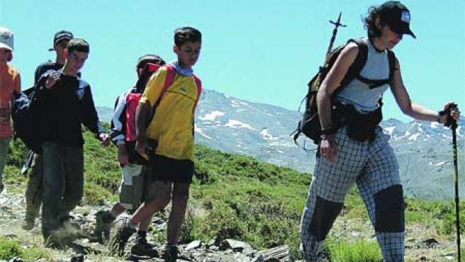 La ruta propuesta para el domingo es considerada por los organizadores como de dificulta alta (Archivo).