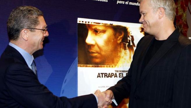 Tim Robbins en Madrid.