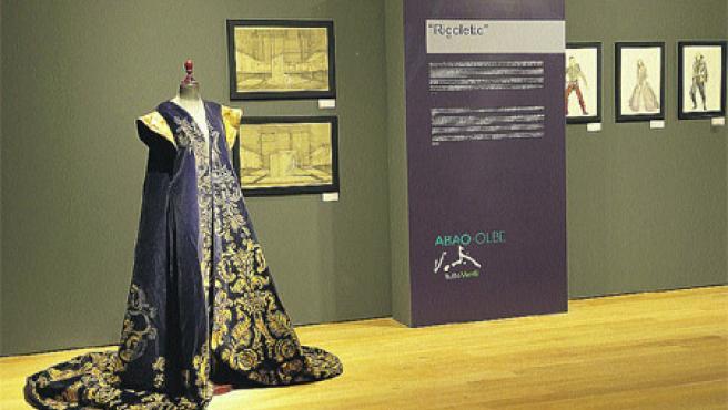 Uno de los trajes que se podrán ver en la exposición ¡Salid!, ¡sombras serenas!, dedicada al compositor Verdi.