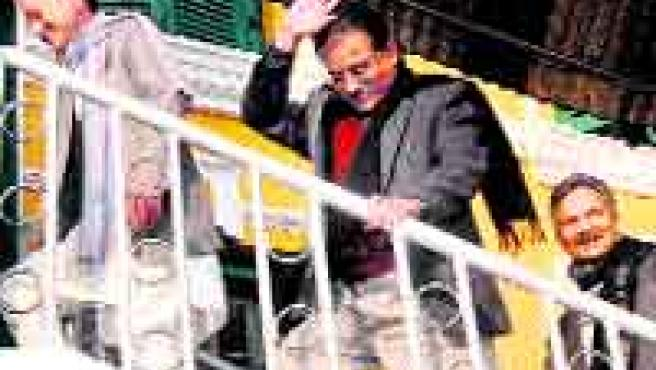 Líder maoísta Prachanda. (Reuters).