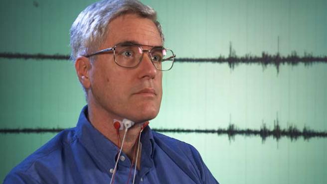 Chuck Jorgensen, inventor del dispositivo. (NASA)