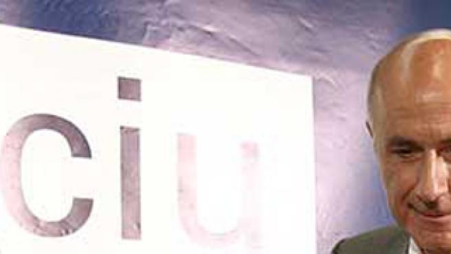 El portavoz de CiU en el Congreso, Josep Antoni Duran Lleida.