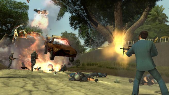 Captura del videojuego 'Scarface'.