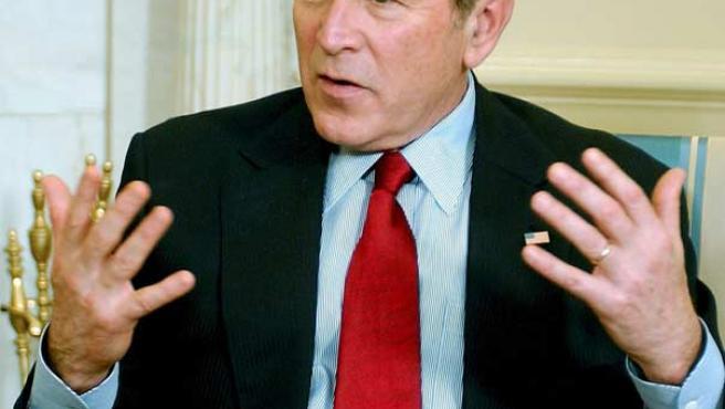 George W. Bush, ayer. (EFE)