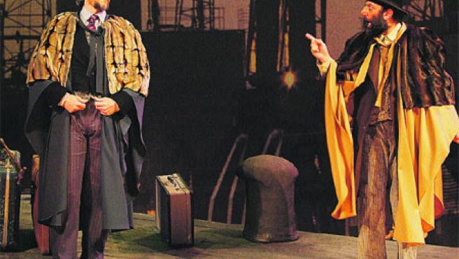 Martín Cases Sanchís, Pepe Miravete y Elizabeth Sogorb son los intérpretes de la obra.