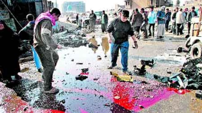 Más de 90 muertos en varios ataques en Bagdad. (Mohammed Jalil / efe).