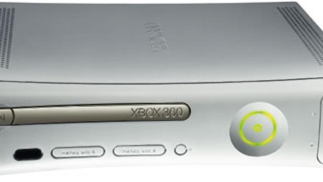 Consola Xbox 360 de Microsoft.