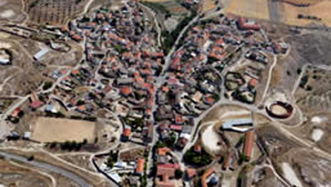 Vista aérea de Brea del Tajo (breadeltajo.com)