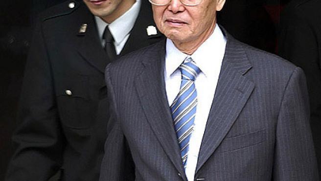 Imagen de archivo del ex presidente Alberto Fujimori.