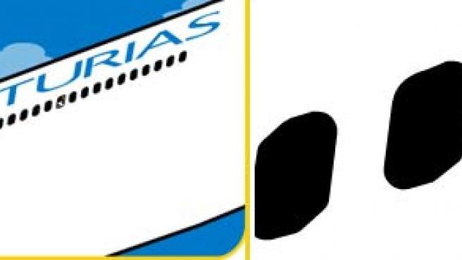 Una imagen de la página web de Air Asturias