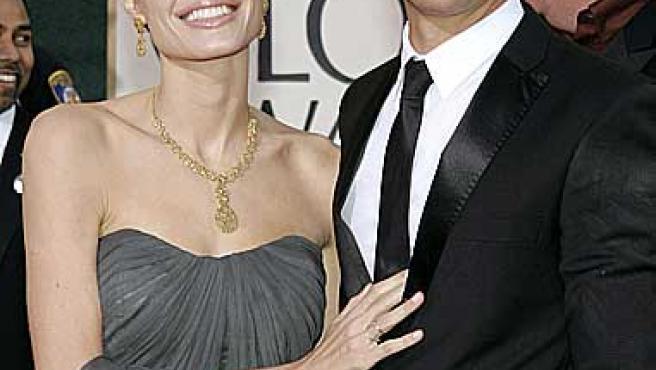 Angelina Jolie y Brad Pitt (Reuters).
