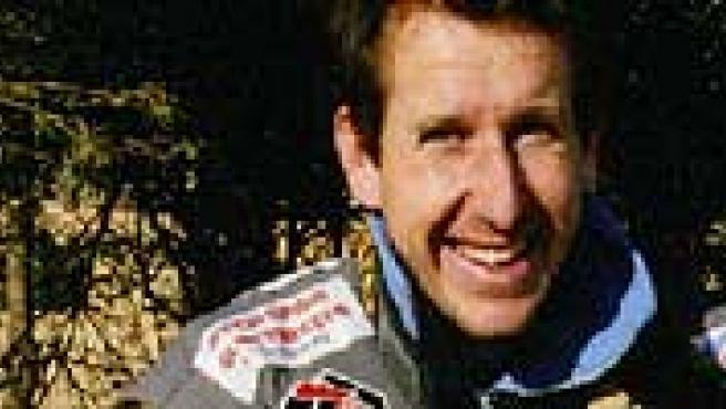 Eric Aubijoux, durante uno de sus Dakar. (www.eric-aubijoux.vip7.com)