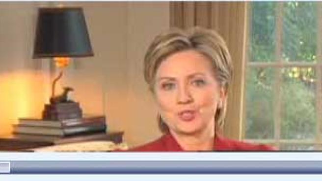 Hillary Clinton ha sido el segundo político que ha anunciado su candidatura a través de internet.