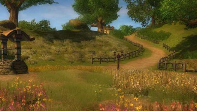 Captura del videojuego 'El Señor de los Anillos Online'.