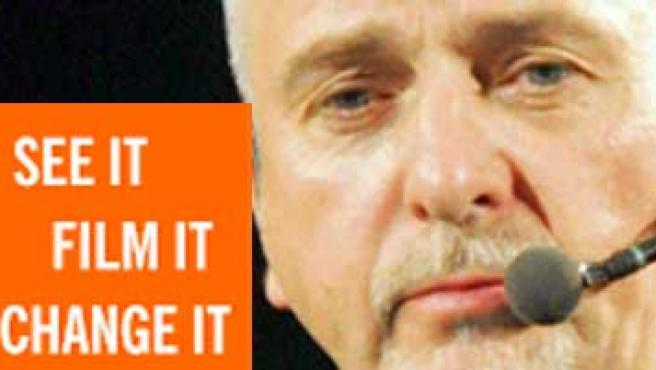 Peter Gabriel quiere que Witness se convierta en el YouTube de los derechos humanos.