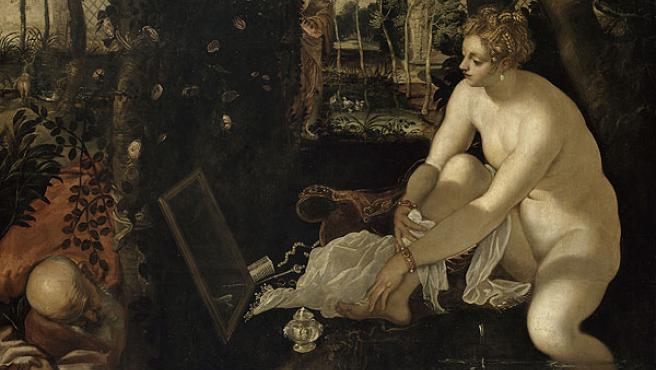 Susana y los viejos, de Tintoretto