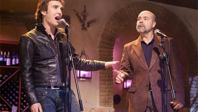 Ramoncín y Antonio Resines