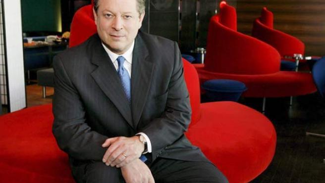 El ex candidato a Presidente de Estados Unidos, Al Gore, ahora nominado al Príncipe de Asturias.