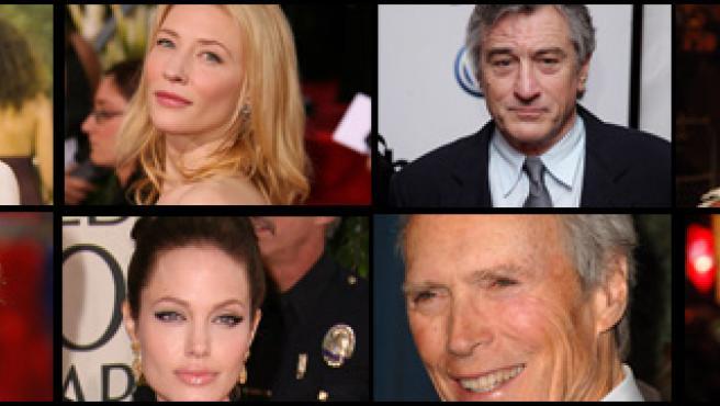 Los rostros de la 57 edición del Festival de Cine de Berlín.