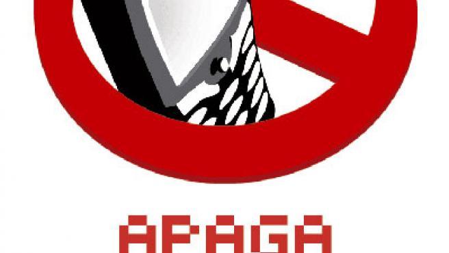 Logotipo para el 'Día sin móvil'.