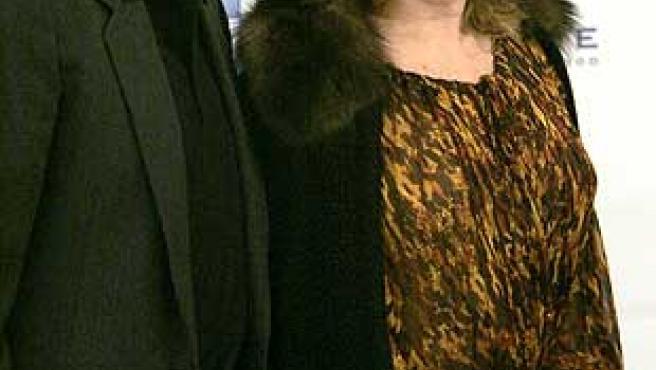 "Richard Gere y Catherine Deneuve en ""Cinema for peace""."