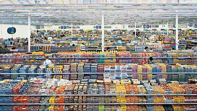 '99 Cents II, Diptych'. (Andreas Gursky)