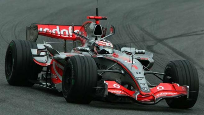 Alonso en Montmeló este pasado miércoles.