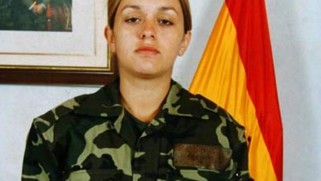 Fotografía sin datar de la soldado española Idoia Rodríguez Buján quien murió en las inmediaciones de la localidad afgana de Shindand.