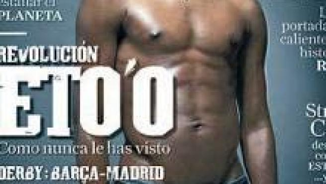 Eto'o en la portada de Rolling Stone, Ronaldinho y Beckham
