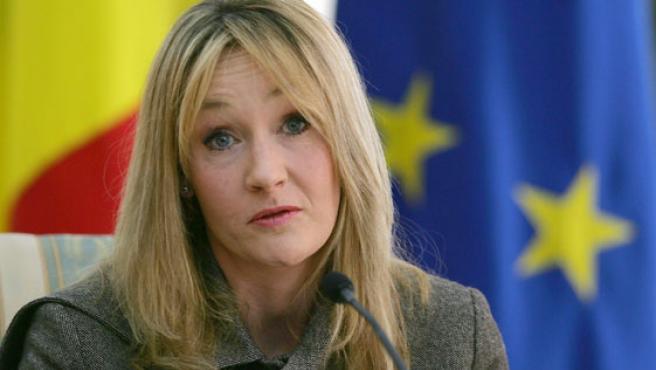 La escritora J.K Rowling, en una imagen de archivo.