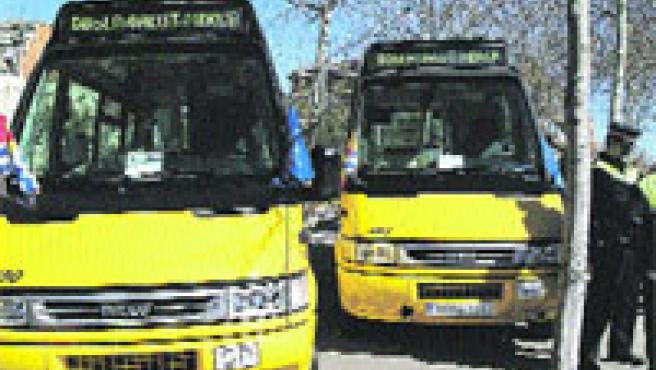 La nueva línea de minibuses BD5. (AJB)