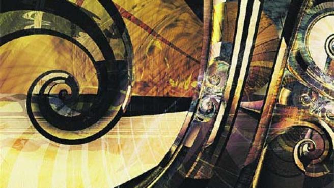 Exposición que se puede ver en la capital vizcaína Arte fractal: belleza y matemáticas.