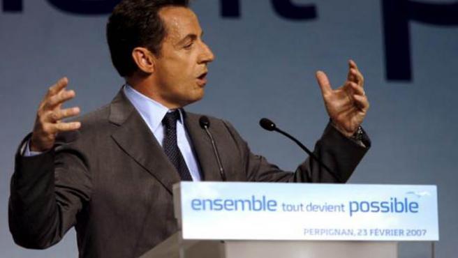 Nicolas Sarkozy. (EFE)