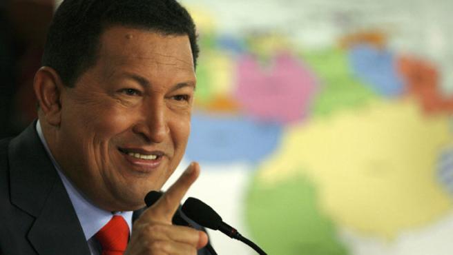 El presidente venezolano en una rueda de prensa (Jorge Silva / REUTERS)