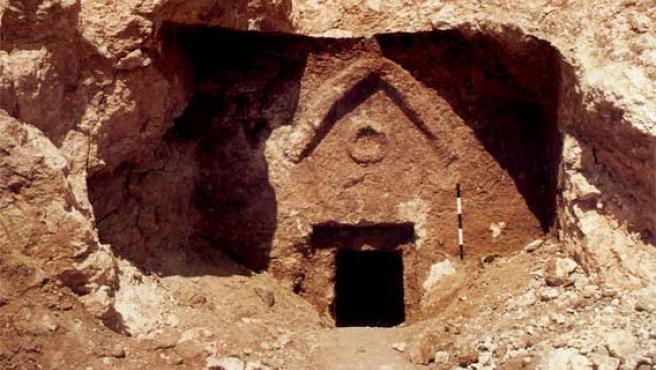 Tumba de Talpiot en Jerusalén en la que está basada el documental 'La tumba perdida de Jesús' (Foto: Efe)