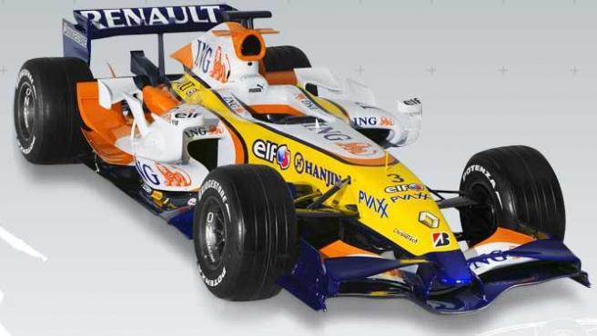 El monoplaza de Renault.