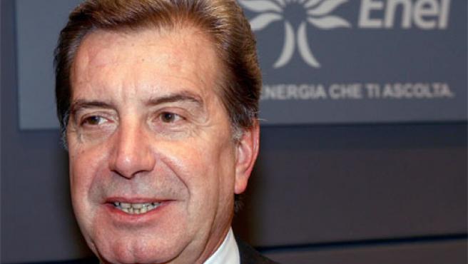 El consejero delegado de Enel, Fulvio Conti, en una foto de archivo (Foto: Efe)