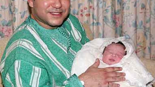 Mohamed VI y Lalla Jadiya (AP)