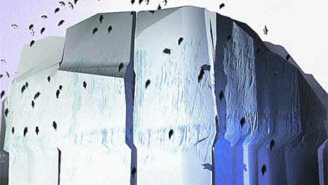 La ceremonia de inauguración de la Expo se hará en un gigantesco Iceberg.