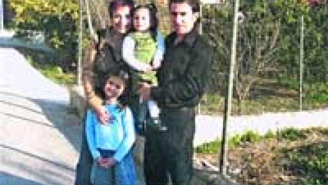 La familia de Manuel Mata.